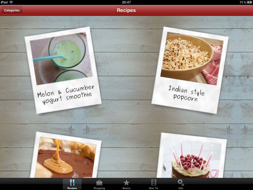 Seriously Good Gluten Free Cooking iPhone & iPad app